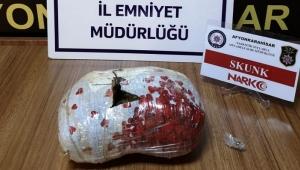 AFYON POLİSİ SKUNK MADDESİ ELE GEÇİRDİ..