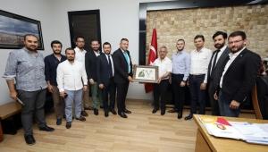 GENÇ GİRİŞİMCİLER'DEN ZEYBEK VE ÇOBAN'A ZİYARET