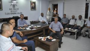Ak Parti Şuhut İlçe Başkanlığında istişare toplantısı yapıldı..