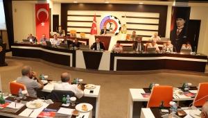 ATSO MECLİSİ'NİN 2019 AĞUSTOS OLAĞAN TOPLANTISI YAPILDI