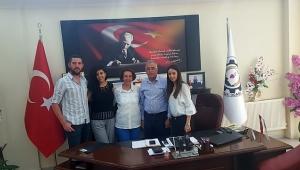 Başkan Abdullah Bağırkan'a Ailesinden Ziyaret