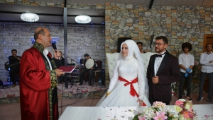 Başkan Bozkurt Nikah Törenlerine Katıldı