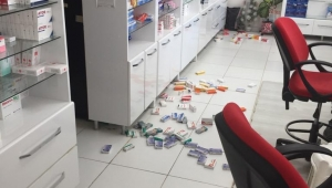 Deprem Dinarda Halkı Sokağa Döktü..
