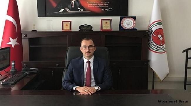 Dinar Adliyesine Yeni Başsavcı Selman Eskiler Göreve Başladı