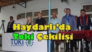 Dinar Haydarlı'da TOKİ sevinci