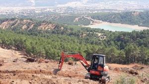 Dinar Orman İşletme Müdürlüğünde çalışmalar tüm hızıyla devam ediyor