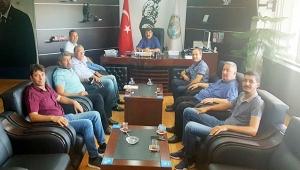 Dinar TSO'dan Başkan Sarı'ya Ziyaret