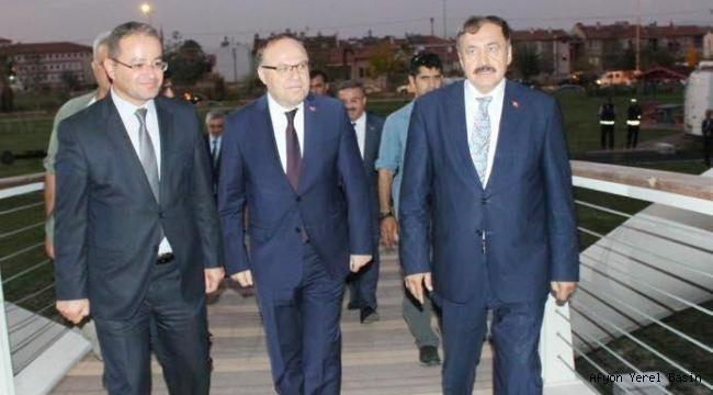 DSİ 183. ŞUBE MÜDÜRÜ FATİH KİŞİ AFYON'A VEDA EDİYOR..