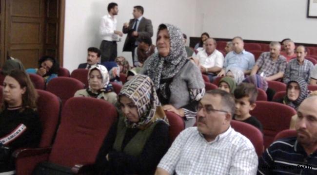 HALK TOPLANTISINDA KENDİSİNİ YANLIŞ İFADE ETTİ..