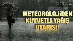 METEOROLOJİ'DEN AFYON'A SAĞANAK YAĞIŞ UYARISI