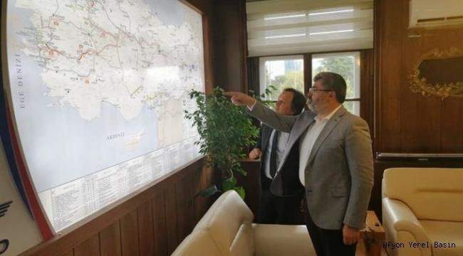 Milletvekili Av. Ali ÖZKAYA TCDD Genel Müdürünü Ziyaret Etti