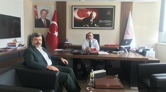 MİLLETVEKİLİ ÖZKAYA DOKTOR SIKINTISINI İLETTİ..
