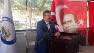 Milletvekili Yurdunuseven Emirdağ'da İGM toplantısına katıldı