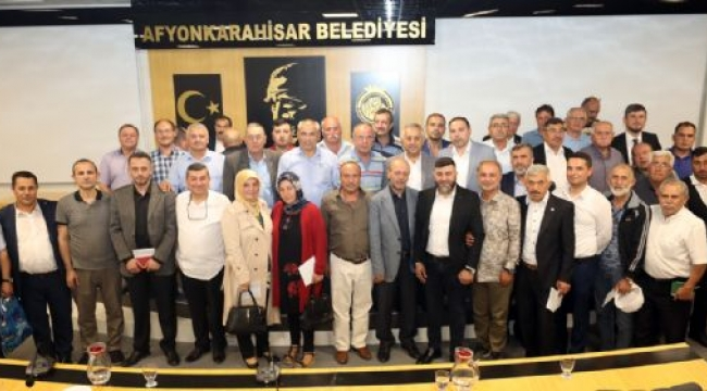MUHTARLARLA İSTİŞARE TOPLANTILARININ İKİNCİSİ YAPILDI