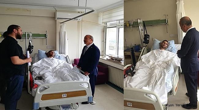 Mv. Mehmet Taytak, Hakkari Şemdinli'de Gazi olan Kumral'ı Ziyaret Etti