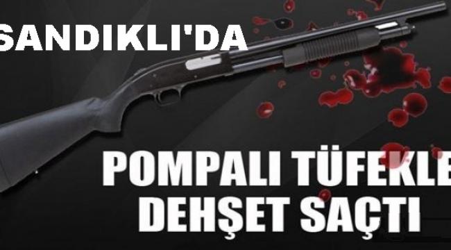 POMPALI TÜFEKLE BAYRAMDA KOMŞUSUNU VURDU..!!