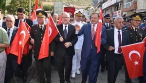 Zafer Halk Yürüyüşü Yoğun Katılımla Yapıldı