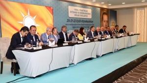 14 Bakan Yardımcısı başkanları dinledi