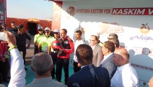 Bakan Kasapoğlu Dünya Motokros Şampiyonası Finaline katıldı
