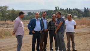 Başkan Bozkurt Canlı Hayvan Borsasını Genişletme Çalışmalarını İnceledi