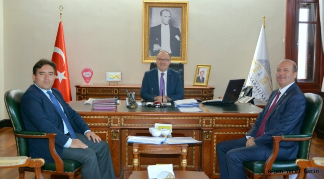 Başkan Bozkurt'tan Vali Tutulmaz'a Ziyaret