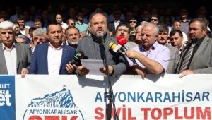 BAŞKAN ZEYBEK'E STK PLATFORMUNDAN DESTEK