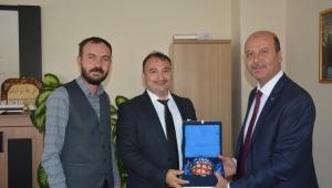 Bozkurt'tan Kamu Hastahaneler Birliği Başkanı'na Ziyareti