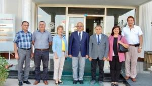 CHP'DEN BAŞKAN ÇOBAN'A ZİYARET