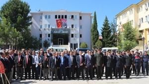 Dinar'da Gaziler Günü Anma Programı