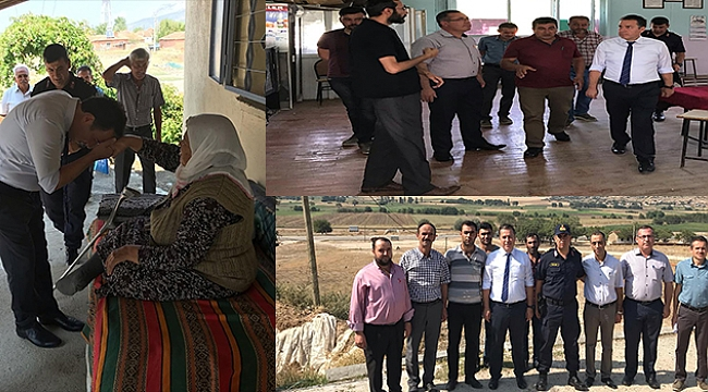Dinar Kaymakamı Kapankaya, Köyleri Ziyaret etti