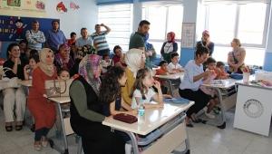 """Dinarda Okullarda """"Okula Uyum Eğitimi"""" İçin İlk Zil Çaldı"""