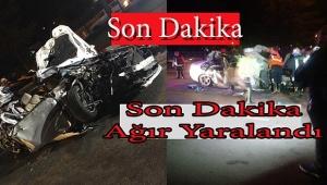 Dinarlı Esnafımız Isparta'da Kaza Yaptı