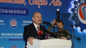 İçişleri Bakanı Süleyman Soylu Afyonkarahisar'daydı