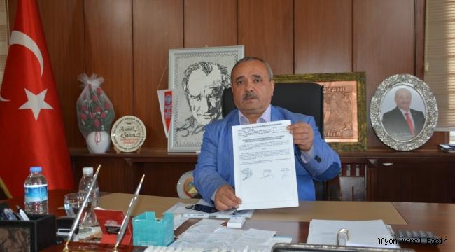 İscehisar Belediye Başkanı Şahin'den Açıklama