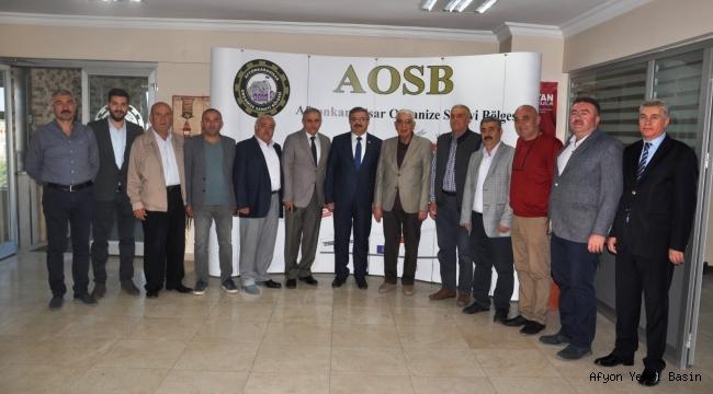 MilletvekiliYurdunuseven'den, OSB yönetimine ziyaret