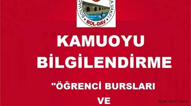 ÖĞRENCİ BURSLARI VE BURS YARDIMLARIMIZ.!