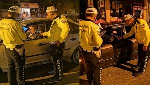 Polis Ekipleri Alkol Denetimi yapmaya devam ediyor