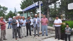 Sinanpaşa'da vatandaşlara aşure ikram edildi
