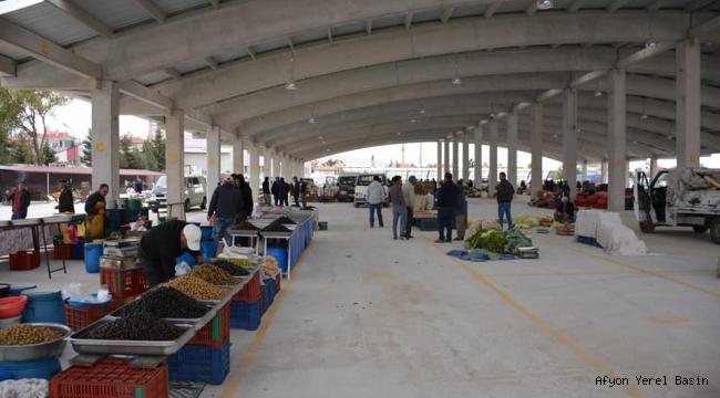 Şuhut Belediyesi Kapalı Pazar Yeri hizmete açıldı