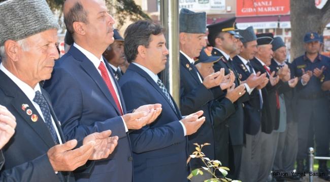 Şuhut'ta Gaziler Günü Kutlandı.