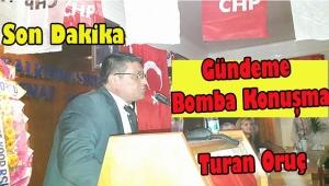 Turan Oruç CHP Dinar Adaylar Hakkında konuştu