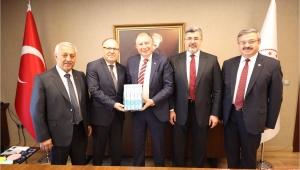 Vali Tutulmaz Ankara'da Ziyaretler Gerçekleştirdi