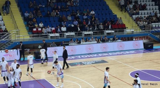 Afyon Belediyespor, sahasında Türk Telekom'a 82-78 mağlup oldu