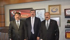 Başkan Nihat Sarı projeleri için Ankara'da