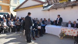 Başkan Sarı ilk mahalle toplantısını gerçekleştirdi