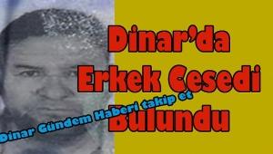 Dinar'da Boş Arazide Ceset Bulundu