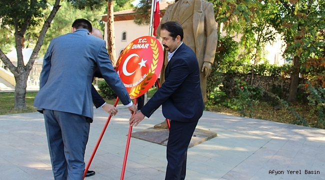 Dinar'da Muhtarlar Günü Kutlandı