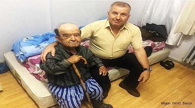 Dinar'da Özcan Kitiş Huzurevini Ziyaret Etti