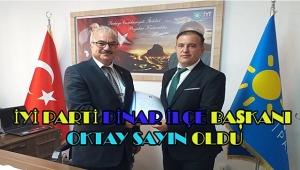 Dinar İYİ Parti İlçe Başkanlığına Oktay Sayın Atandı