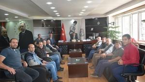 Dinar Kasapları Başkan Sarı'ya Teşekkür etti